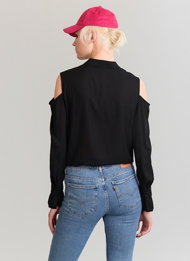 Omuz Detaylı Gömlek-People By Fabrika